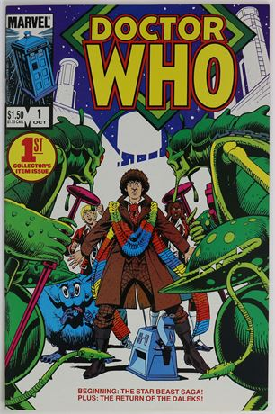 Doctor Who #1 VF+ 1984