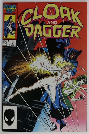 Cloak and Dagger #6 VF/NM 1986