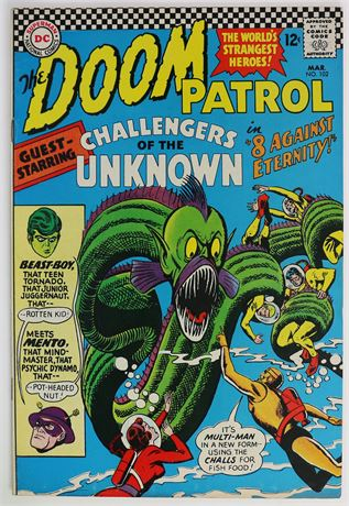 Doom Patrol #102 F/VF 1966