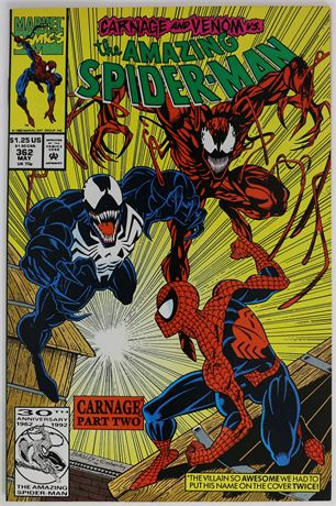 Amazing Spider-Man #362 VF/NM 1992