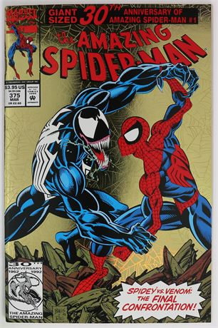 Amazing Spider-Man #375 VF 1993
