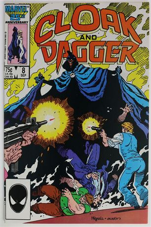 Cloak and Dagger #8 VF/NM 1986