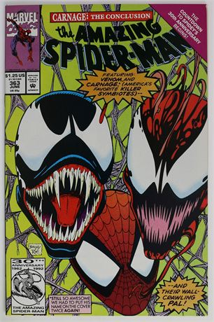 Amazing Spider-Man #363 VF- 1992