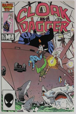 Cloak and Dagger #7 NM- 1986