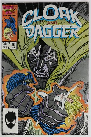 Cloak and Dagger #10 VF- 1986