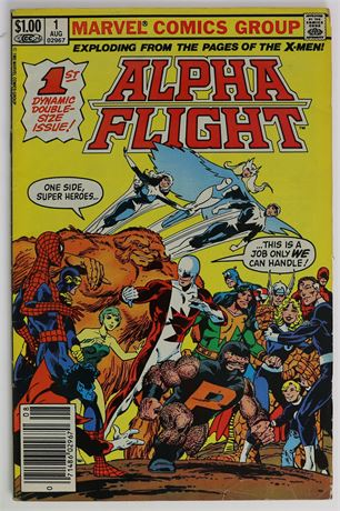 Alpha Flight #1 VG 1983