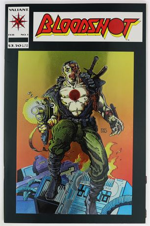 Bloodshot #1 VF 1993