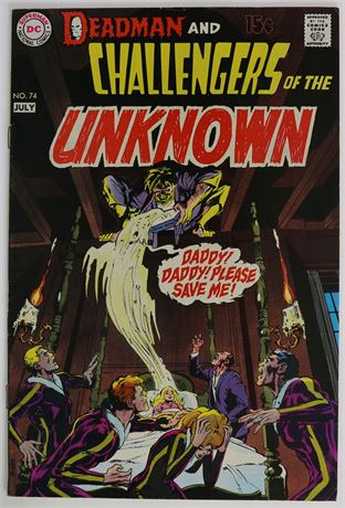 Challengers of the Unknown #74 FN- 1970