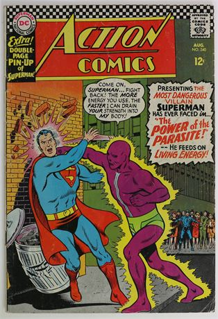 Action Comics #340 FR/GD 1966