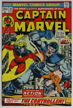 Captain Marvel #30 VF 1974