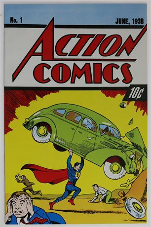 Action Comics #1 Reprint VF+ 1992