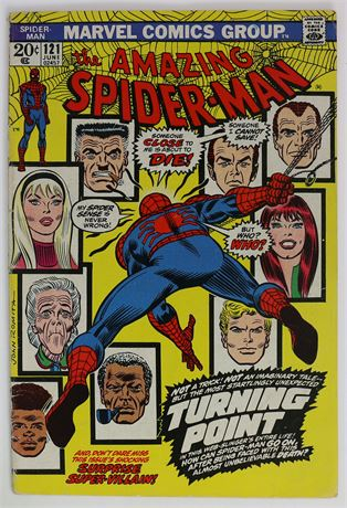 Amazing Spider-Man #121 VG 1973