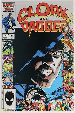 Cloak and Dagger #9 VF- 1986