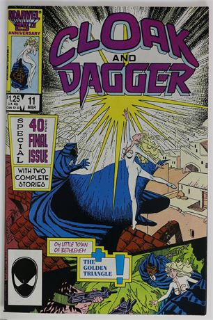 Cloak and Dagger #11 VF+ 1986