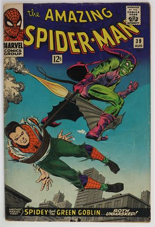 Amazing Spider-Man #39 VG 1966