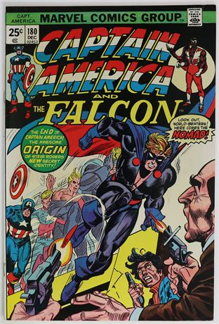 Captain America #180 VF- 1974