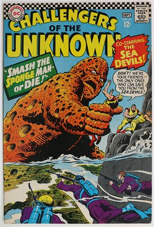 Challengers of the Unknown #51 FN+ 1966