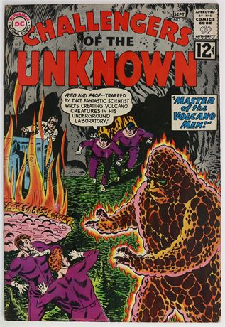 Challengers of the Unknown #27 FN- 1962