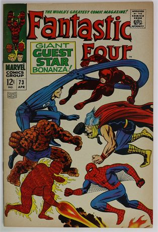 Fantastic Four #73 VF- 1968