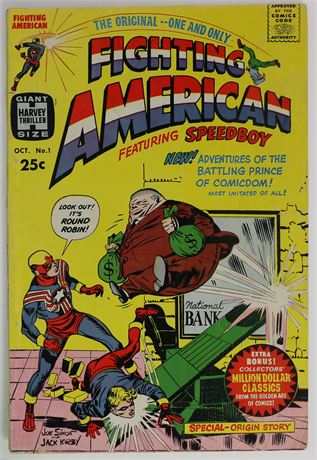 Fighting American #1 G/VG 1966