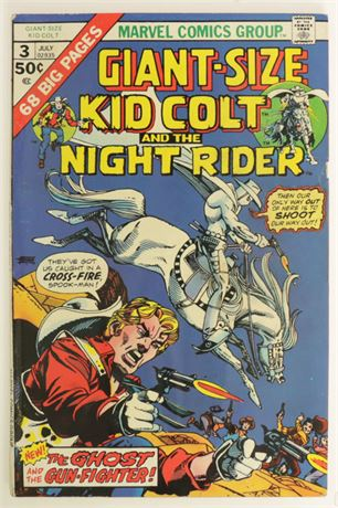 Giant-Size Kid Colt #3 G/VG 1975