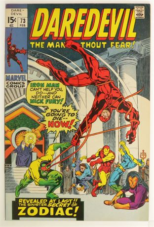 Daredevil #73 F/VF 1971