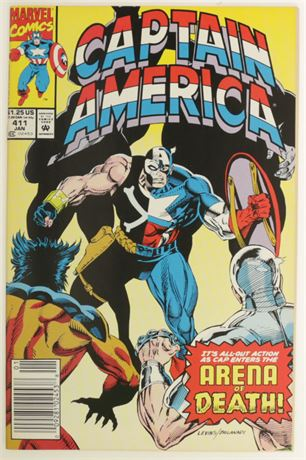Captain America #411 VF- 1993