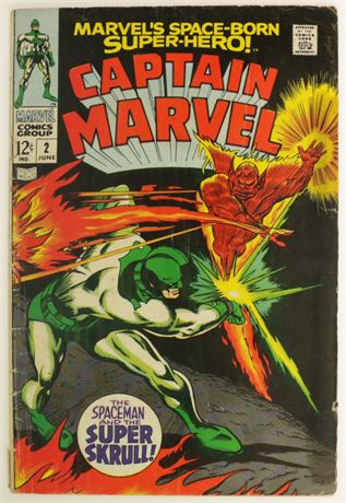 Captain Marvel #2 G/VG 1968