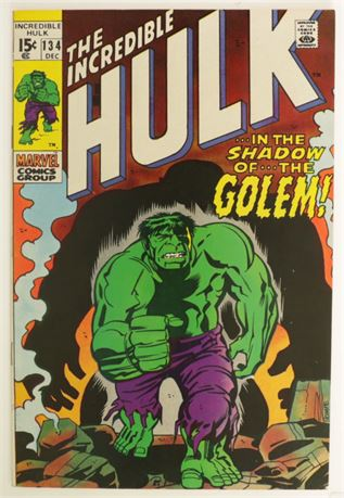 Incredible Hulk #134 VF 1970