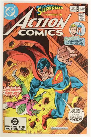 Action Comics #530 F/VF 1982