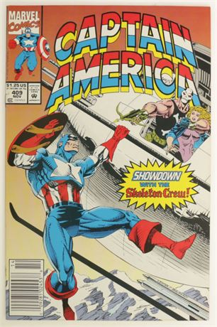 Captain America #409 VF 1992