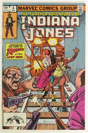 Further Adventures Of Indiana Jones #4 VF/NM 1983