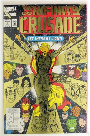 Infinity Crusade #1 NM- 1993