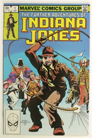 Further Adventures Of Indiana Jones #1 VF/NM 1983