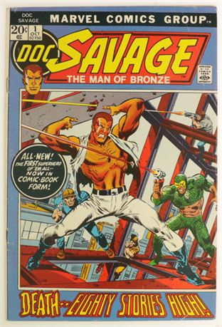 Doc Savage #1 VF+ 1972