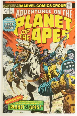 Adventures On The Planet Of The Apes #1 VF 1975