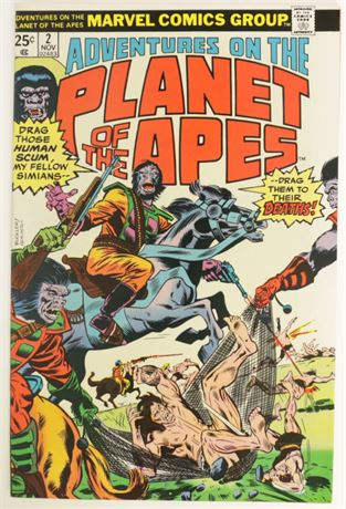 Adventures On The Planet Of The Apes #2 VF 1975