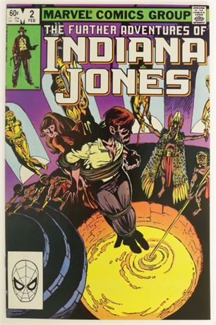 Further Adventures Of Indiana Jones #2 VF/NM 1983