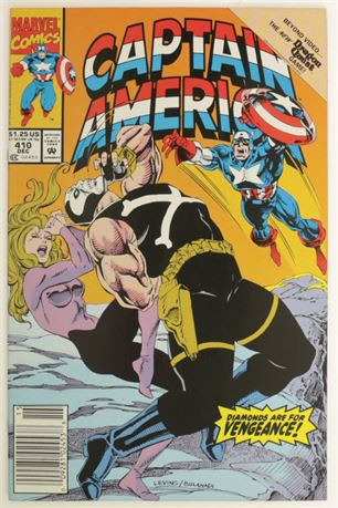 Captain America #410 VF 1992
