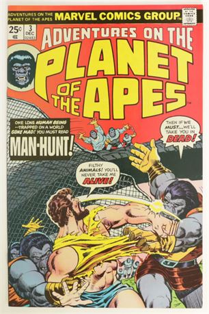 Adventures On The Planet Of The Apes #3 VF/NM 1975