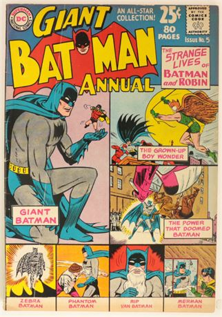 Batman Annual #5 VG 1963