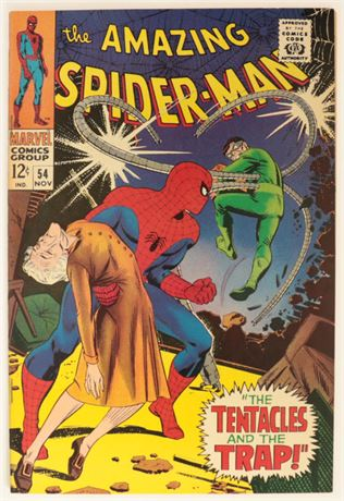 Amazing Spider-Man #54 VF+ 1967