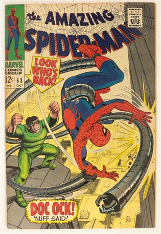 Amazing Spider-Man #53 VF 1967