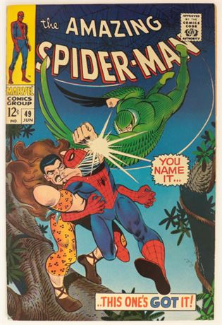 Amazing Spider-Man #49 VF 1967