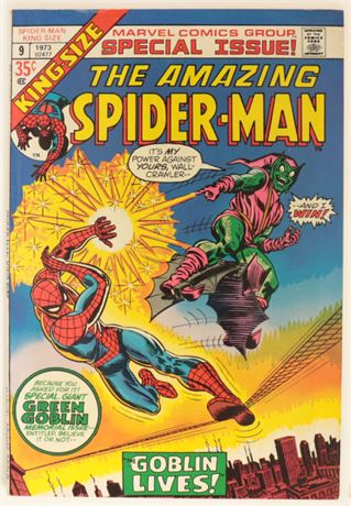 Amazing Spider-Man King-Size #9 F/VF 1973