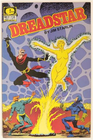 Dreadstar #2 VF+ 1983
