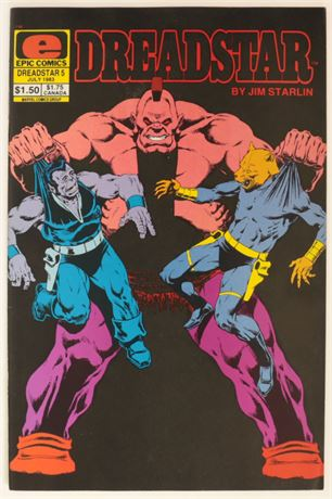 Dreadstar #5 VF- 1983