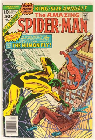 Amazing Spider-Man Annual #10 FN 1976