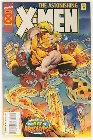 Astonishing X-Men #2 NM- 1995