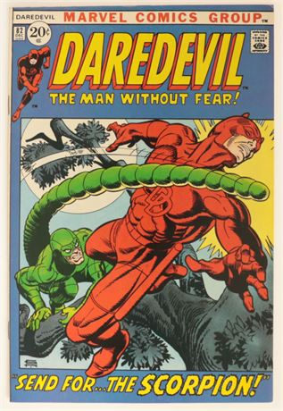 Daredevil #82 VF 1971